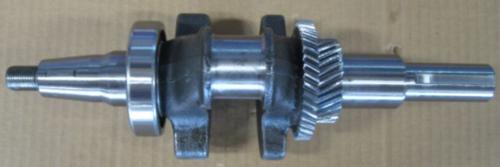 Коленвал для двигателя 188/190F вал 25мм (шпонка)
