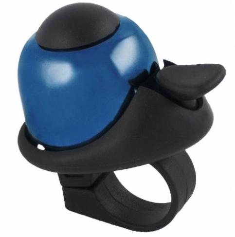 Звонок мини D=35 алюм/пластик (цвета в ассорт.)