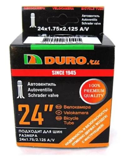 Велокамера 24х1.75/2.125 A/V (47/57-507) DURO