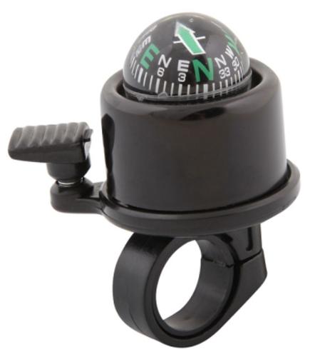 Звонок черный, с компасом