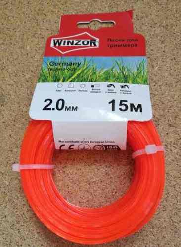 Леска 2,0*15 квадрат(оранжевый) Winzor