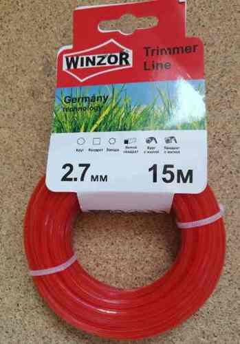 Леска 2,7*15 звезда(красный) Winzor
