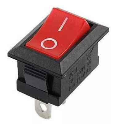 Кнопка выключения стоп для бензопилы 4500/5200 (красная)