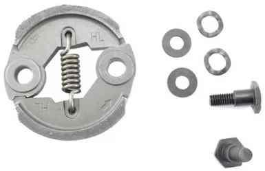Муфта сцепления для бензокосы (триммера) 430/520 (пружина 12 витков,набор с болтами и шайбами)