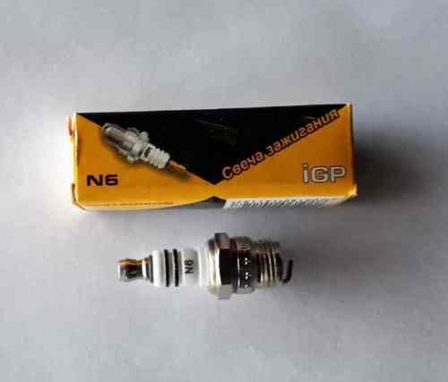 Свеча зажиг.igp N6 (шаг 14х1,25;длина резьбы 7,8 мм, посадка конус)