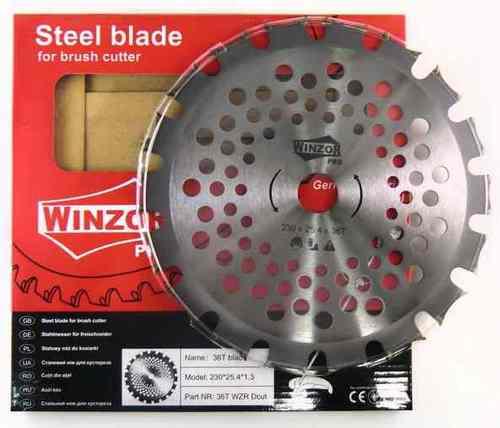 Нож для кустореза 230/1,3/36Т Winzor PRO (Dcut,победитовый,двухсторонний)