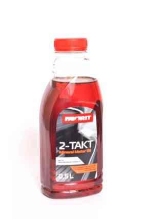 Масло FAVORIT 0,5л (для 2-х тактных бензопил/триммеров,минеральное,красное)