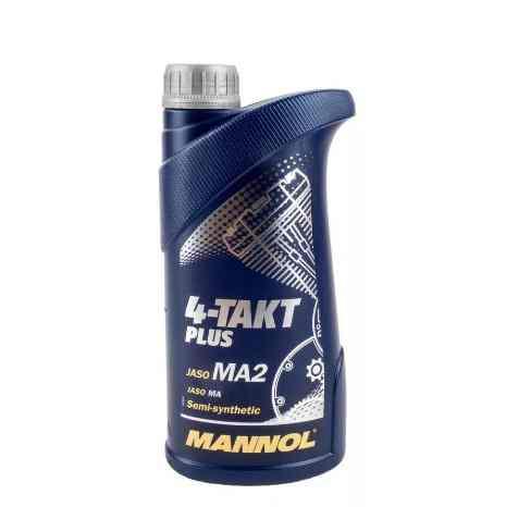 Масло MANNOL 4-Takt Plus 1л 10W40 (для 4-х тактных мотоблоков/двигателей)
