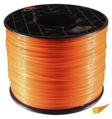 Леска 3,0*233м квадрат(оранжевый) Winzor (бухта)
