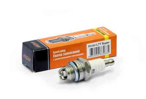 Свеча зажигания REZER Super L7T 2 электрода(для 2-х такт бензопил,триммеров)