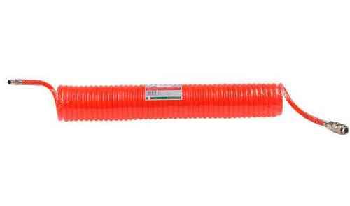 Шланг полиэт. спиральный ф 6 мм с быстросъемн. соед. ECO (длина 10 м)(AHE-106)