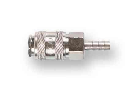 Соединение быстросъем. МАМА х елочка 8 мм (сталь) ECO