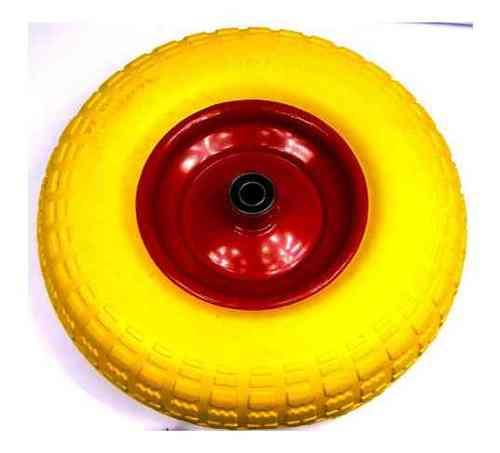 Колесо полиуретановое 4.00-6 ось 12/110 (металл. диск)