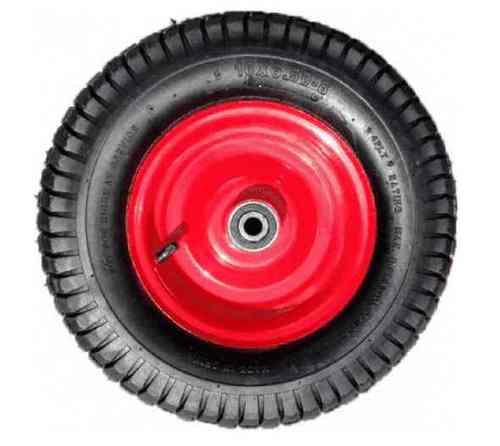 Колесо пневматическое 3,5-6 ось 16/90 (металлический диск)