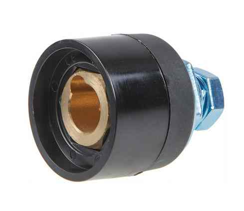 Разъем сварочный панельный 35-50 мм2 DX50 (мама)