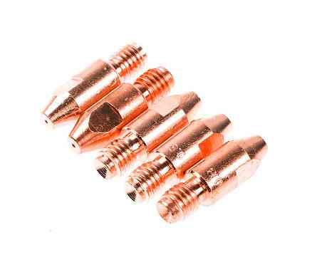 Трубка контактная Ф 0.8 мм M8х30 мм E-Cu (набор 5 шт)