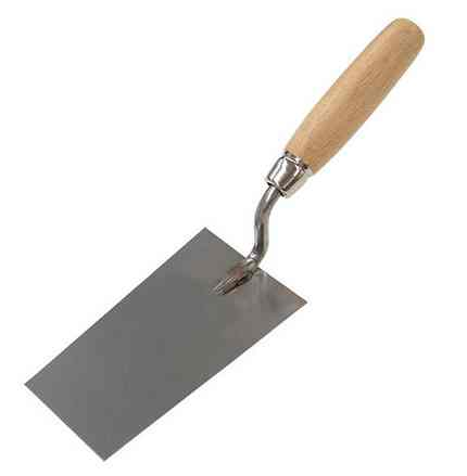Кельма шпаклевочная (с деревянной ручкой)