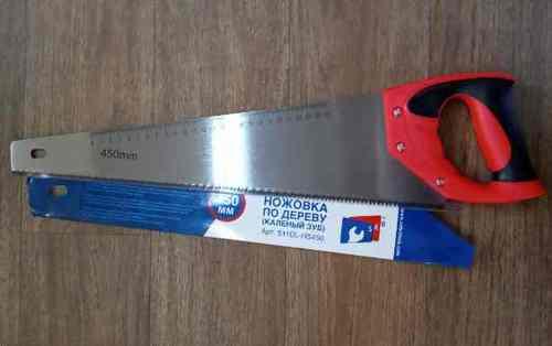 Ножовка по дереву SEB 450мм (мелкий зуб)