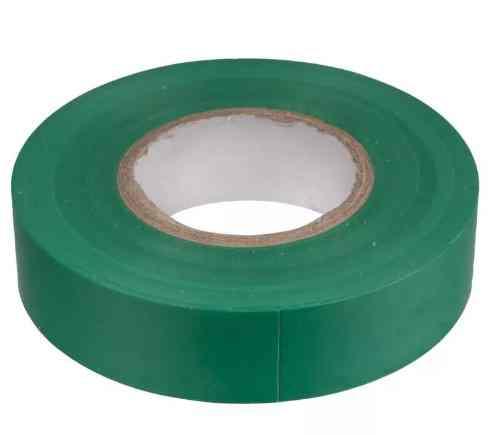 Изолента ПВХ 18ммх20м зеленая