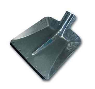 Лопата снеговая оцинковка ЛС9 оцинковка (без черенка)