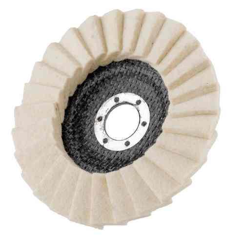 Круг полировальный войлочный лепестковый для УШМ 125мм