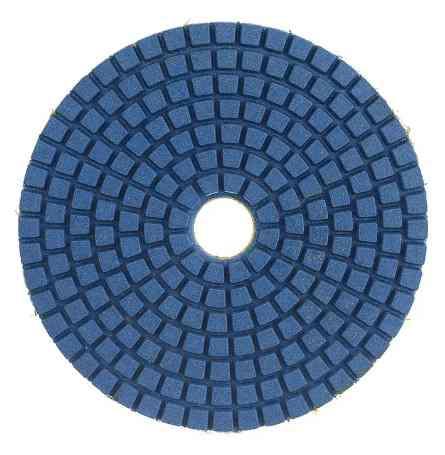 Круг шлифовальный Черепашки 200 Vertex (для полировки мрамора)