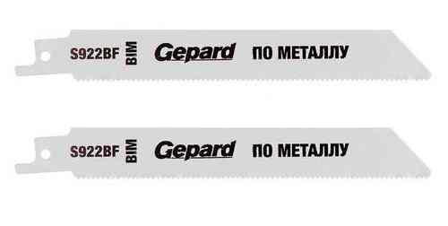 Пилка сабельная по металлу S922BF (2 шт) Gepard