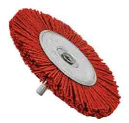 Щетка для дрели нейлоновая плоская (100мм)