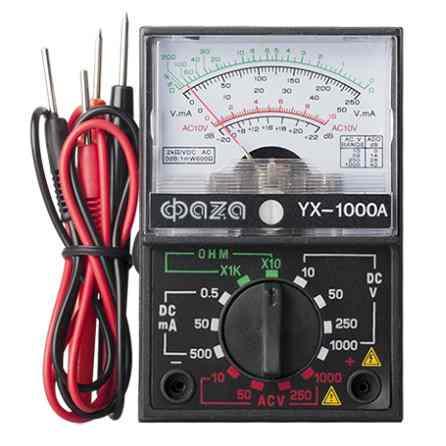 Мультиметр аналоговый YX-1000А Фаза