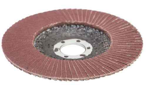 Круг лепестковый торцевой 125мм P180 Vertex