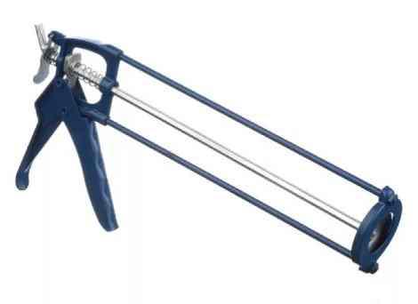 Пистолет для герметика скелетный 225 мм усиленный (9013)