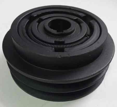 Муфта сцепления для виброплиты 2A130-25-7 (арт.145009)(пос.25мм,наруж.диам.130мм,2-ручейк)