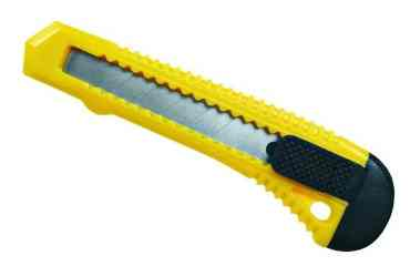 Нож малярный 18мм Китай