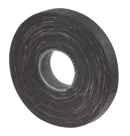 Изолента х/б черная 300г 19ммх21м