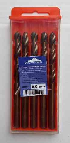 Сверло по металлу 9.0мм Р6М5К5 (Кобальт) Vertex (5шт)