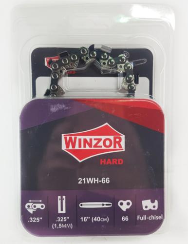 Цепь 0,325-1,5-66 звеньев Winzor HARD (ПРЯМОУГОЛЬНЫЙ ЗУБ)