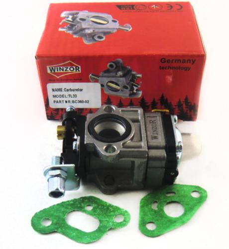 Карбюратор для бензокосы (триммера) малый диффузор (33сс) Winzor