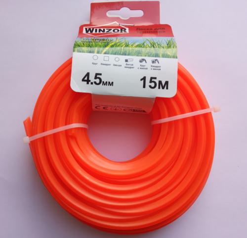 Леска 4,5*15 квадрат (оранжевый) Winzor