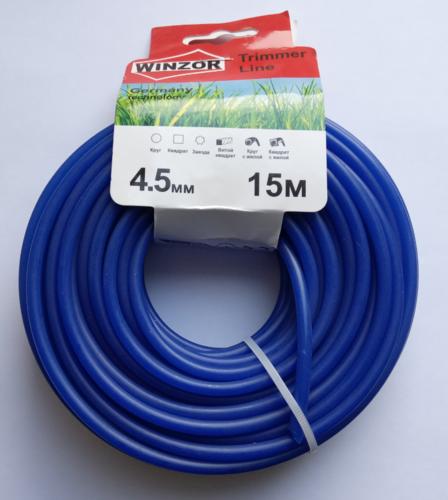 Леска 4,5*15 круг (синий) Winzor