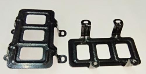 Защита бака (для бака 4 винта) металлическая для бензокосы (триммера) 430/520