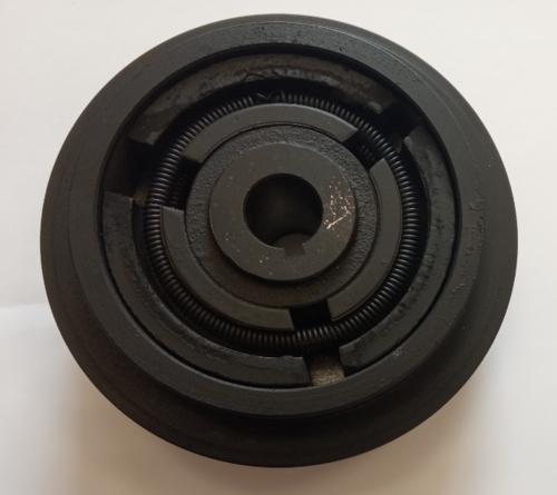 Муфта сцепления для виброплиты 2A130-20-5 (арт.145008)(пос.20мм,наруж.диам.130мм,2-ручейка)