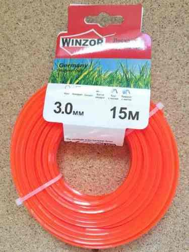 Леска 3,0*15 квадрат(оранжевый) Winzor