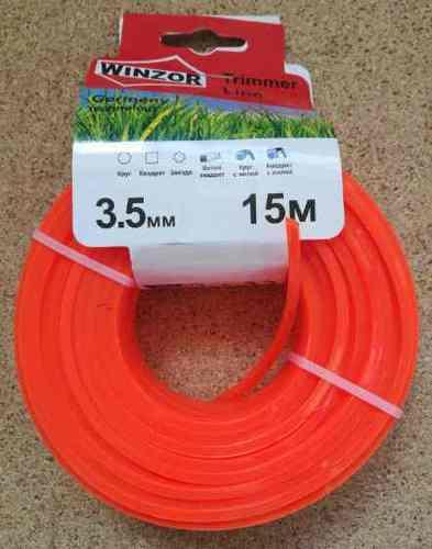 Леска 3,5*15 квадрат(оранжевый) Winzor