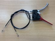 Рычаг сцепления с тросом для мотоблока МТЗ Беларус (с клавишей СТОП)