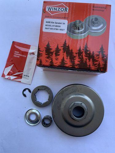 Барабан сцепления разборный для бензопилы Штиль Stihl 361 (набор)